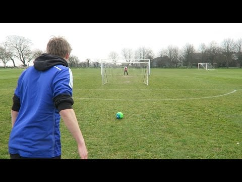 YOUTUBER FOOTBALL CHALLENGES!!