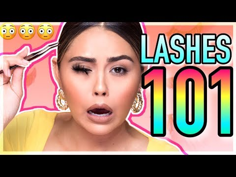 How To: Apply False Lashes LIKE A PRO! Step by Step Tutorial + My Favorite Lashes! Roxette Arisa thumbnail
