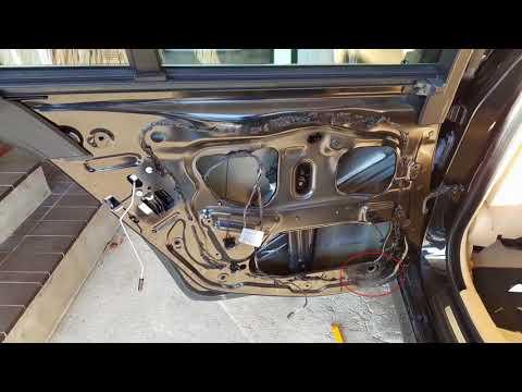 BMW F10 How to remove front wood trim on Door Panel 2013 535i Sedan