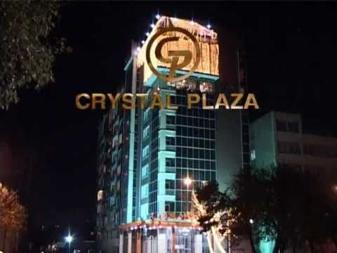 Crystal Plaza Restaurants Complex - Advertising Caspian Crys