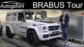 BRABUS Factory Tour with G-Class S-Class 900 hp & vintage 300 SL - Autogefühl