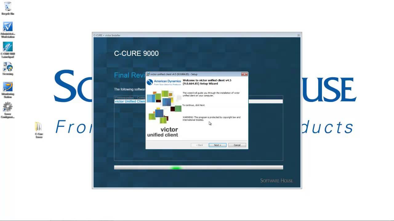 victor unified site server training unify existing c cure 9000 rh youtube com Ccure 9000 Enterprise Network GUI Software House Ccure 9000