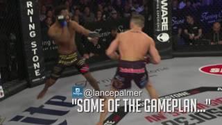 WSOF35: Lance Palmer Breaks Hand vs. Andre Harrison