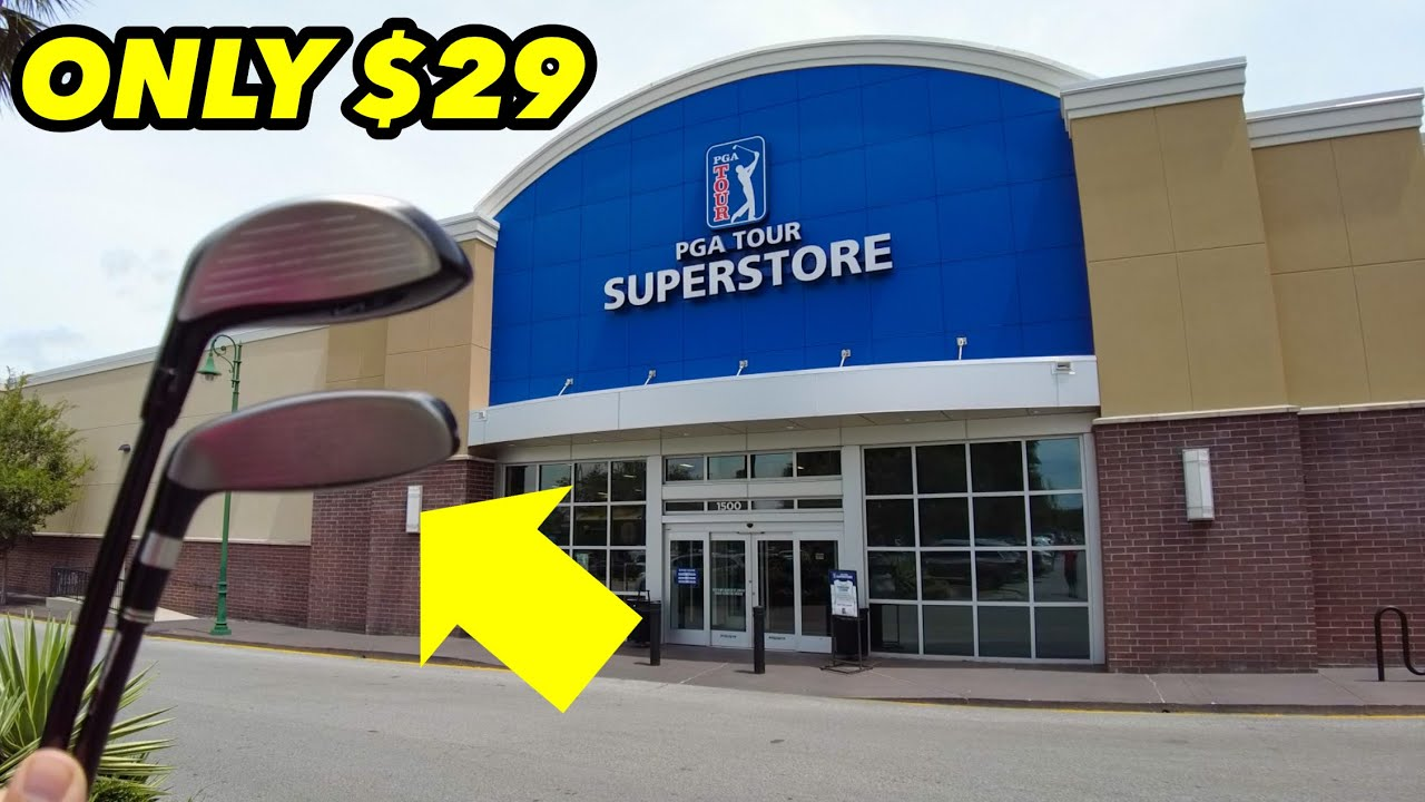 PGA TOUR SUPERSTORE HAD NO IDEA HOW MUCH THESE WERE WORTH