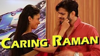 Have a look to how Raman is taking care of his pregnant wife Ishita!