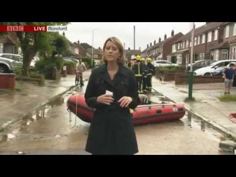 2016 Thunderstorms and flash floods cause chaos across Britain