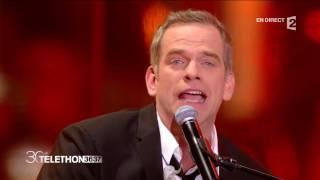 "Garou - ""Lean on me/Oh happy day"" - Téléthon 2016"