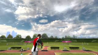 London 2012 The Official Video Game of the Olympic Games Shooting Gameplay [ PC HD ]
