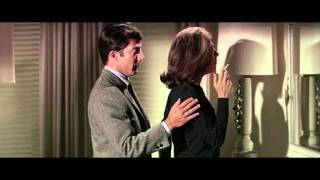 The Graduate:Dustin Hoffman and Anne Bancroft kiss