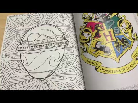 harry-potter-coloring-book-review-and-flip-through.-hp-and-the-money-grab.
