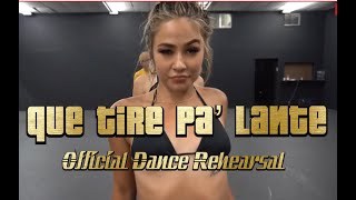 Daddy Yankee Que Tire Pa' Lante | Official music video Dance Scene directed by Greg Chapkis.mp3