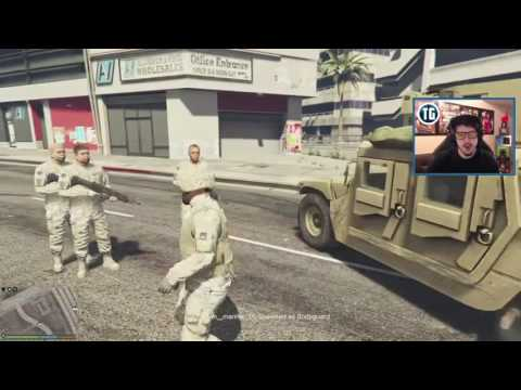 GTA 5 PLAY AS A COP MOD   MILITARY TAKEOVER!! MARTIAL LAW Army Police Patrol!! GTA 5 Mods Gameplay