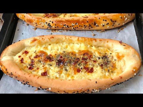 Turkish cheese pide recipe Turkish cheese pizza recipe