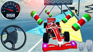 Formula Rampa Araba Yarışı Stunts - İmkansız Araba Pisti Simülatörü 2021 - Android GamePlay # 5