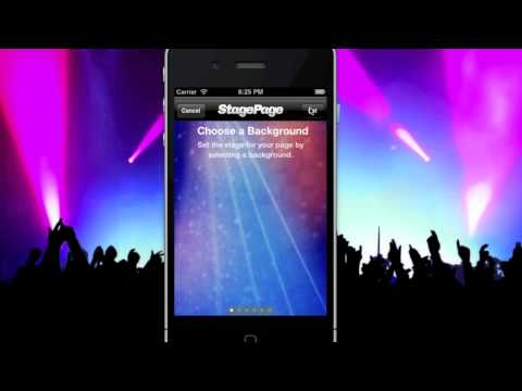 StagePage - the concert iPhone App