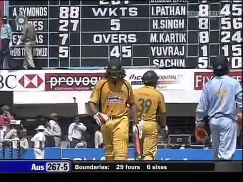 India v Australia 2007 Nagpur ODI part 1