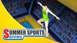 Summer Sports: Diving - Game Trailer (Spil Games)