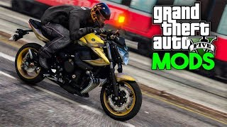 GTA V MODS - FUGA DE XJ6 DO RENATO GARCIA!