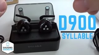 Syllable D900 Bluetooth Headphones Review  - Truly Wireless Earbuds