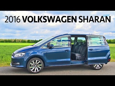 Volkswagen Sharan (2016) Features, Interior, Exterior [YOUCAR]