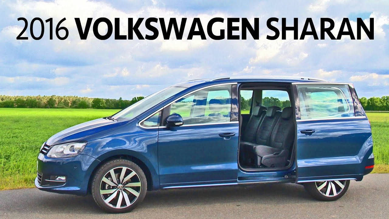 volkswagen sharan 2016 features interior exterior youcar youtube