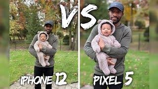 iPhone 12 VS Google Pixel 5 Camera Comparison!