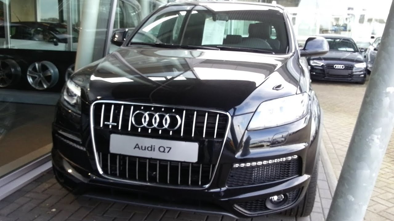 Audi Q7 S Line 2014 In depth review Interior Exterior - YouTube