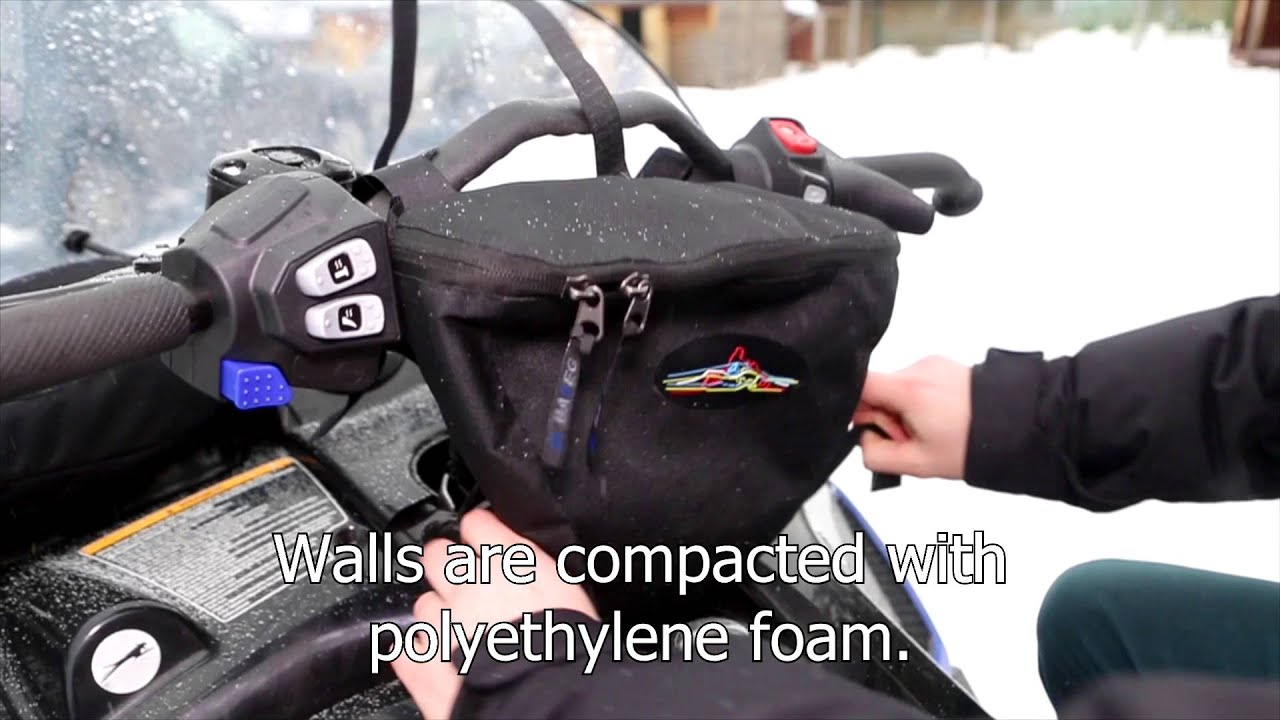 Baseg Handlebar Bag Windsheld For Snowmobile