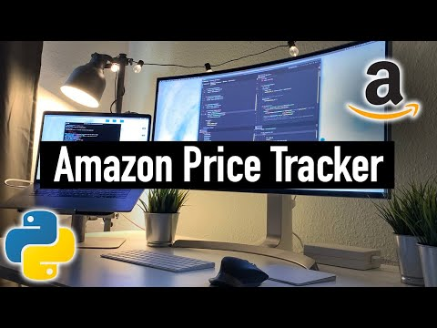 🔴 How to Build an AMAZON Price Tracker with Python (in 3 hours!)