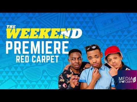 The Weekend - Film Premiere (Red Carpet): Media Spotlight UK