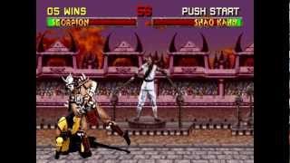 Mortal Kombat 2: Scorpion HD Playthrough