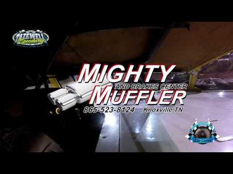 #22 Jason Sizemore - Sportsman - 7-2-17 Tazewell Speedway - In-Car Camera