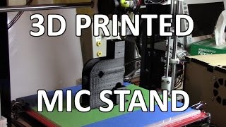 3D Printed Mic Stand - Tinman Electronics 19