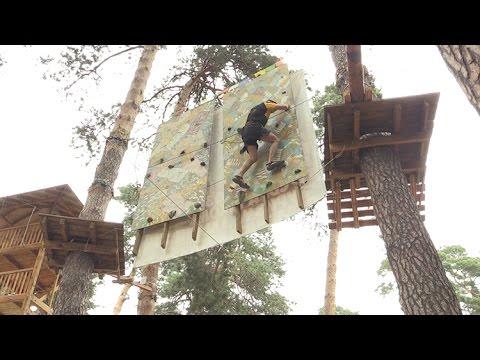 Як дбають про безпеку відвідувачів на Житомирському мотузковому атракціоні