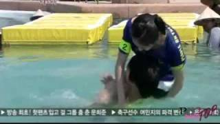 [110202] SHINee Cut :: Minho & Krystal Vs. Chansung & Sunhwa