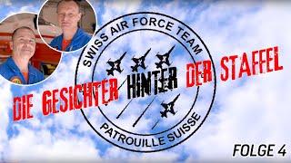Mechaniker «Hebi» und «Gäbu» | 55 Jahre Patrouille Suisse | Folge 4