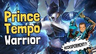 Prince Tempo Warrior Decksperiment - Hearthstone