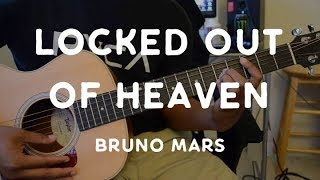 Locked out of heaven by Bruno Mars - guitar tutorial