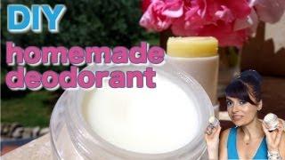 DIY homemade natural stick & cream deodorants Thumbnail