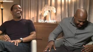 THE EQUAZLIZER Interview With Denzel Washington & Antoine Fuqua