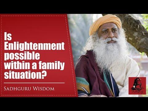 Is Enlightenment possible within a family situation? | Sadhguru Wisdom | Isha Yoga | Adiyogi TV