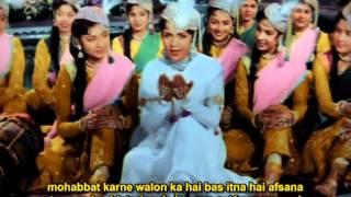 teri mehfil mughal e azam subtitulado en espaol e hindi