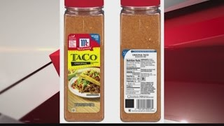 Mccormick Recalls Original Taco Seasoning Mix Youtube