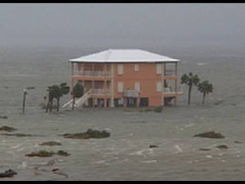 Hurricane Ivan Video From Barrier Islands