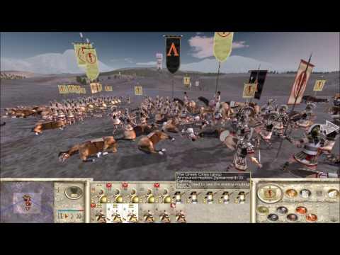 "Rome Total War online battle #2281: ""Lamian clash"""