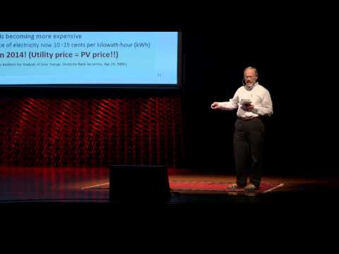 The inflection point for solar energy | David Galipeau | TEDxBrookings