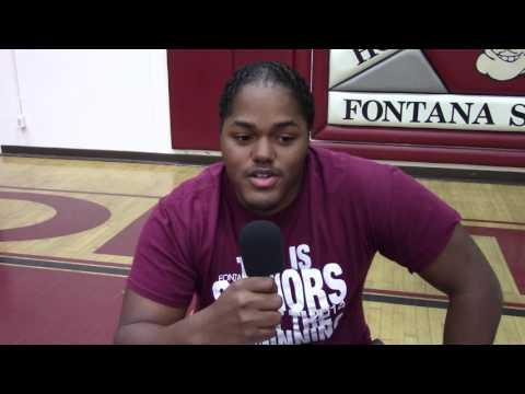 Fontana High School scholarships 2017