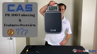 CAS PB300 Unboxing & Features Overview..........Is it really NTEP Approved?