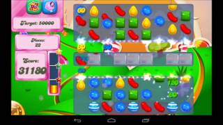 Candy Crush Saga Level 77 Walkthrough