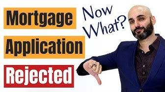 What to do next if your application for a mortgage loan is denied